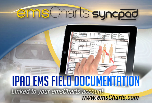 Emscharts Pre Hospital Care Amp Management Software